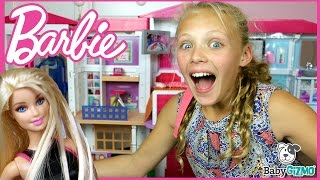 getlinkyoutube.com-NEW Barbie Hello Dreamhouse FULL HOUSE TOUR & Unboxing
