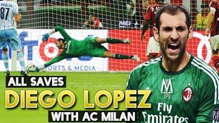Những pha cứu thua của Diego Lopez cho AC Milan
