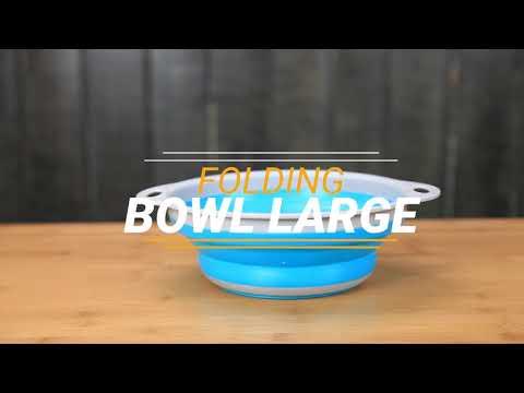 Caribee Folding Bowl - Large