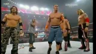 getlinkyoutube.com-Team cena vs. Nexus Best WWE Moment