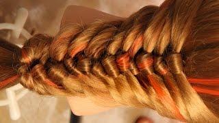 "getlinkyoutube.com-Коса - ""Пуговки"" - Hairstyles by REM"