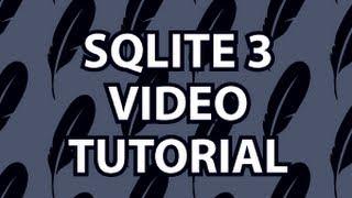getlinkyoutube.com-SQLite3 Tutorial