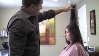 getlinkyoutube.com-Really Long Layers *Haircut* Step by Step (How to cut *Long Layers*)