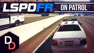 getlinkyoutube.com-LSPDFR 0.1 - On Patrol - Day 5 - COUNTY SHERIFF! - GTA V PC