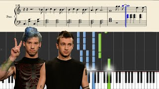 getlinkyoutube.com-twenty one pilots: The Judge (Piano Tutorial) + Sheets