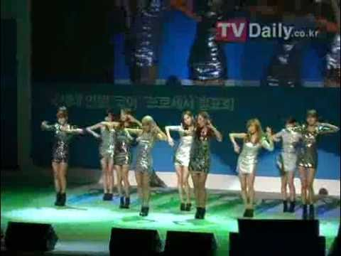 SNSD - Visual Dreams (Intel Core Processor Launching Show)