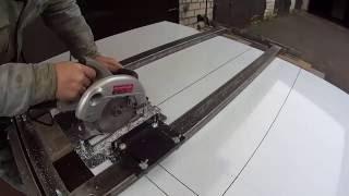 getlinkyoutube.com-57.Изготовление рекламных и других конструкций из алюминиевых композитных панелей