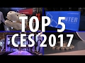 Top 5 3D Printing Things I Saw at CES 2017