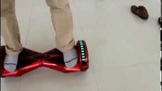 getlinkyoutube.com-Hoverboard Bluetooth X3 : segway sans guidon avec haut parleur