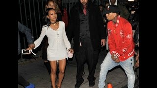 "getlinkyoutube.com-Chris Brown Questions Karrueche's ""Talent"" and Says She Makes Straight to DVD Movies."