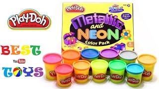 getlinkyoutube.com-PLAY DOH. Play Doh Surprise Eggs. Пластилин Плей До и Фиксики.