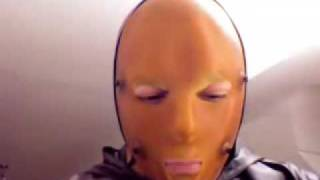 getlinkyoutube.com-putting on heavy rubber special mask