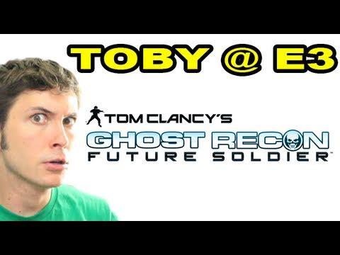 Toby @ E3 - Ghost Recon Future Soldier