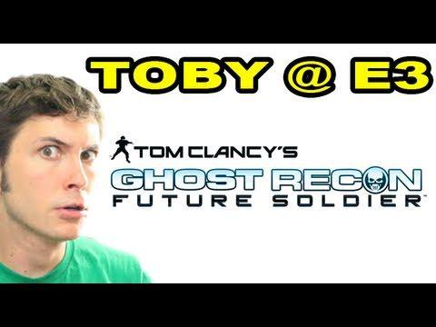 Toby @ E3 - Ghost Recon Future Soldier