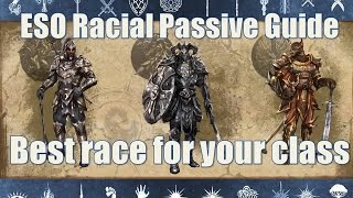 getlinkyoutube.com-Racial passives how to choose the right character in Elder Scrolls Online
