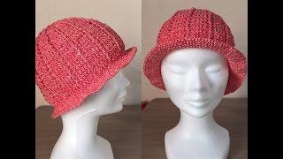 Tuto chapeau, bonnet  au crochet