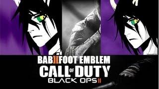 getlinkyoutube.com-COD Black Ops 2 Emblem Tutorial - Bleach Ulquiorra Murcielago