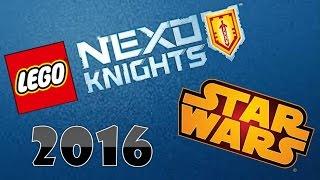 getlinkyoutube.com-LEGO Nexo Knights/Star Wars 2016 (Imágenes oficiales)