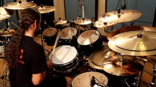getlinkyoutube.com-Daniel Moscardini - Panic Attack (Drum Cover)