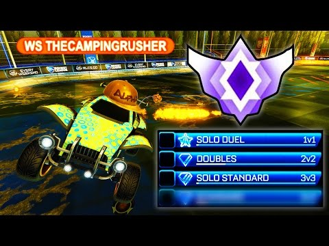 10 - 0 IN PLACEMENTS = GRAND CHAMP IN ROCKET LEAGUE?!