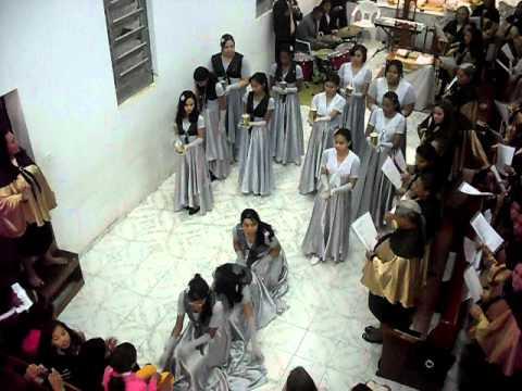 coreografia evangelica Vanilda Bordiere - É quase meia noite