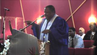 Pastor Cherry Preaching