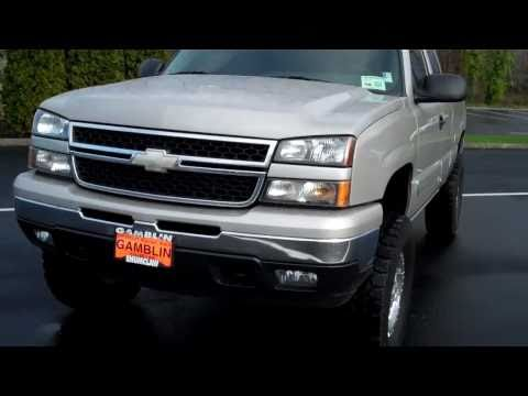 2006 Silverado Extended Cab Lifted