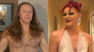 getlinkyoutube.com-Drag Queen Makeup Transformation - Rodd becomes Patti
