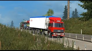 getlinkyoutube.com-Euro Truck Simulator 2 Little ride with the 190.38 Special of Dani