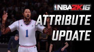 "getlinkyoutube.com-NBA 2K16 Attribute Update: 93 Ovr 7' 3"" Inside Center 245 lbs #NBA2K16"