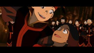 getlinkyoutube.com-Aang & Katara's Dance: Full Scene [HD]