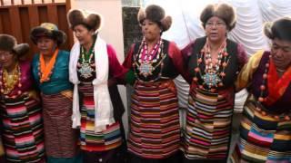 getlinkyoutube.com-Sherpa dance performed at Dolma's wedding 12-14-15