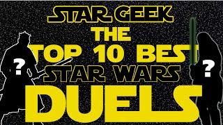 getlinkyoutube.com-Top Ten Star Wars Lightsaber Duels - Star Geek