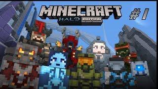 getlinkyoutube.com-Let's Play Minecraft (Xbox 360): Halo Edition - Part 1