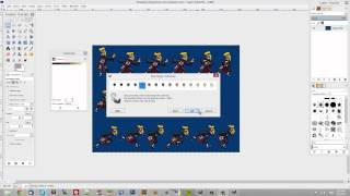 How To Rip Sprites (from sprite sheets) with GIMP.