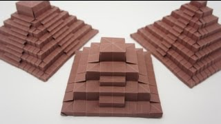 getlinkyoutube.com-Origami Ancient Pyramid (Jo Nakashima)