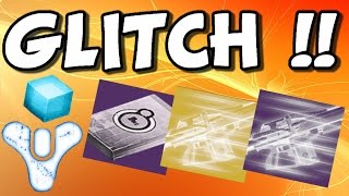 Destiny GLITCH !! How To Get Unlimited Engrams , Glimmer & Faction Reputation
