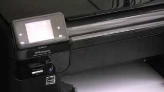 getlinkyoutube.com-How to fix a HP Printer, not printing black ink and missing colours.