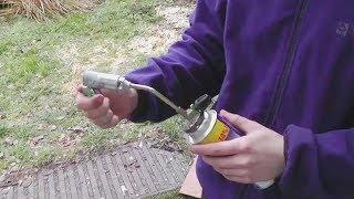 getlinkyoutube.com-Газовая горелка - резак за 100рублей обзор\тест