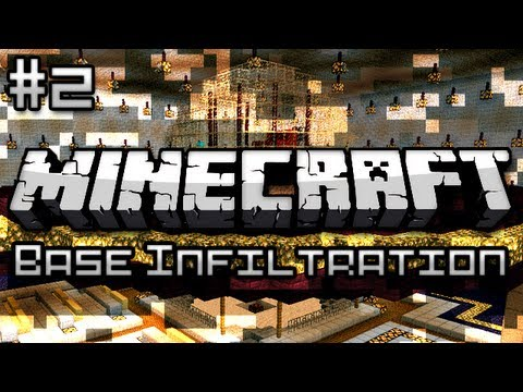 Minecraft: Military Base Infiltration Part 2 - Alien Space Ship