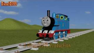 getlinkyoutube.com-3D Thomas The Tank Engine Model Test 3