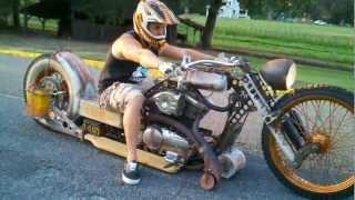 """getlinkyoutube.com-Rat Rod bike """"redneck limo"""""""