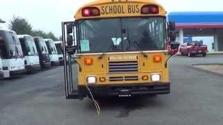 getlinkyoutube.com-B02614 Northwest Bus Sales Used Blue Bird TC2000 14 Row Type D School Bus