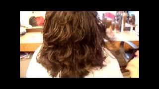 getlinkyoutube.com-Three Layers  haircut by Razor