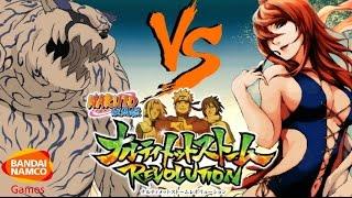 getlinkyoutube.com-Naruto Ultimate Ninja Storm Revolution: Mei Terumi vs Gaara AWAKENING Gameplay