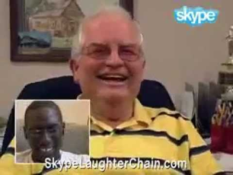 Risate a catena (Skype Laughter Chain) -QlcjMEYl8sE