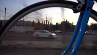 getlinkyoutube.com-Test Footage RX100 Mark IV at 60fps Beholder MS1 Camera Stabilizer LA River Bike Path Sunset