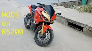 Modifications on Pulsar RS200