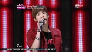 getlinkyoutube.com-[HD] TEEN TOP - Perfect Man (ShinHwa)