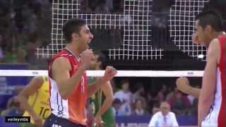 getlinkyoutube.com-Taylor Sander USA vs Brazil